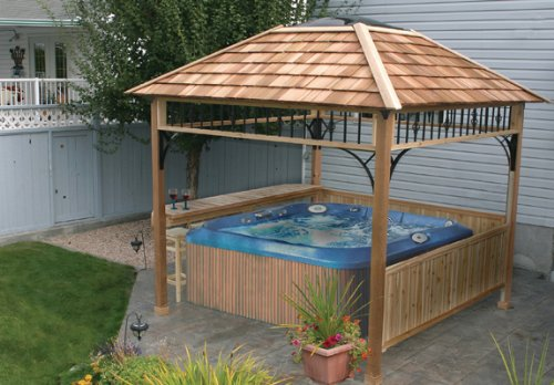 Everything you need to know about gazebos the garden and patio home guide - Build rectangular gazebo guide models ...
