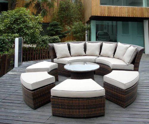 rattan garden furniture the garden and patio home guide. Black Bedroom Furniture Sets. Home Design Ideas