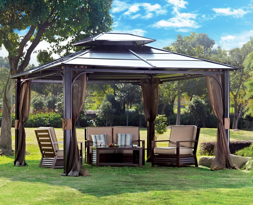 gazebo the garden and patio home guide. Black Bedroom Furniture Sets. Home Design Ideas