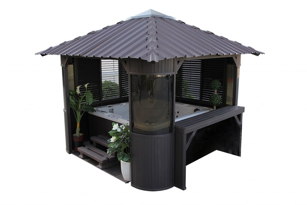 Gazebos the garden and patio home guide for Spa gazebo kits