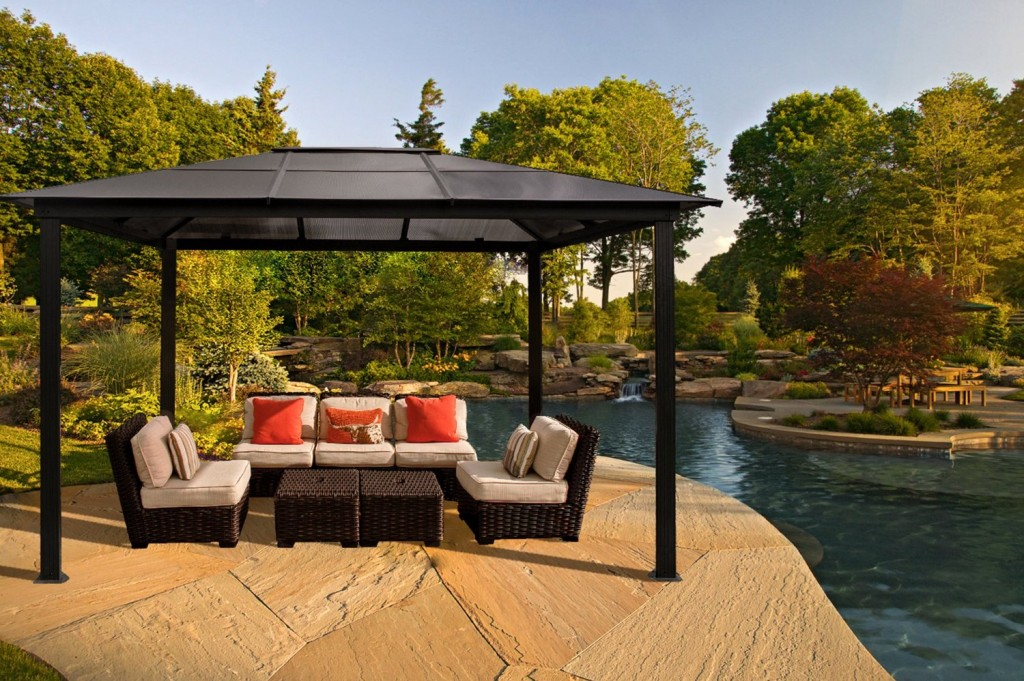The garden and patio home guide for Garden cabana designs