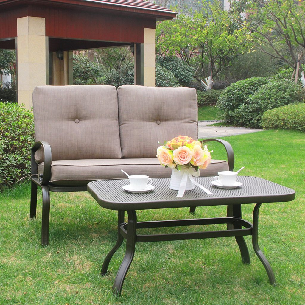 Wrought iron patio furniture the garden and patio home guide for Rod iron patio furniture