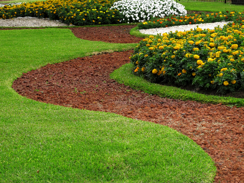 Crushed Rock Landscaping : Landscaping with crushed rock the garden and patio
