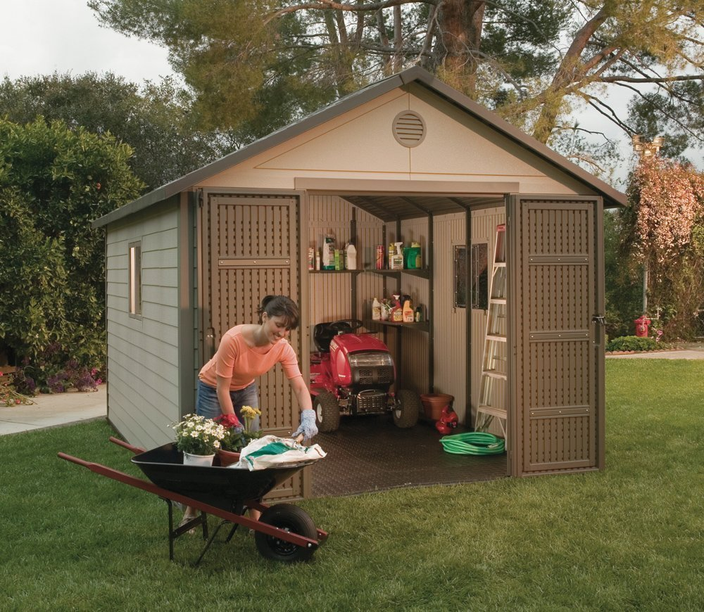 4 budget conscious tips for buying a garden shed the for Garden pool sheds