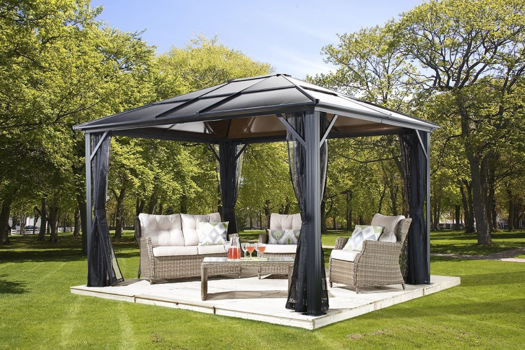 6 shade structures to help you beat the heat the garden for Home shade structures