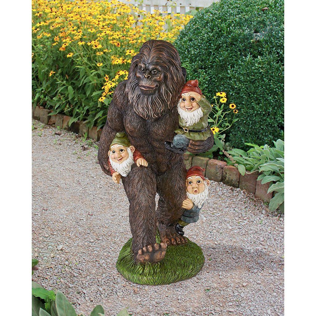 Awesome Bigfoot Statue