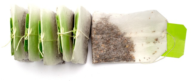 Used Tea Bags In The Compost